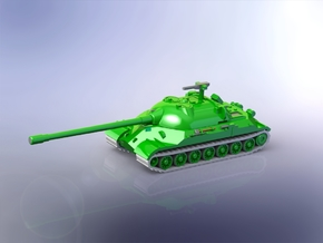 Russian IS-7 Heavy Tank 1/220 in Smooth Fine Detail Plastic