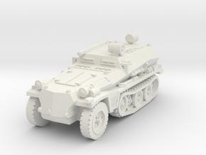 Sdkfz 253 Propaganda 1/100 in White Natural Versatile Plastic