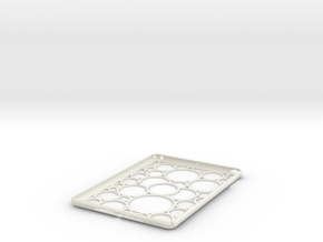 IPad Air Case MV in White Natural Versatile Plastic