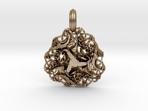 drafon celt in Polished Gold Steel