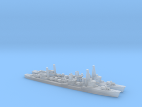 Japanese Akatsuki-Class Destroyer (x2) in Smooth Fine Detail Plastic
