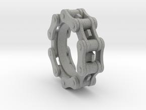Bicycle Chain Ring in Metallic Plastic