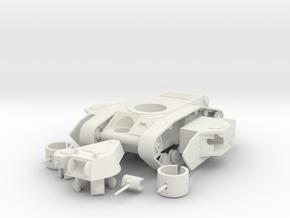 "1/100 KT-3 ""Kalinka"" Medium Tank in White Natural Versatile Plastic"