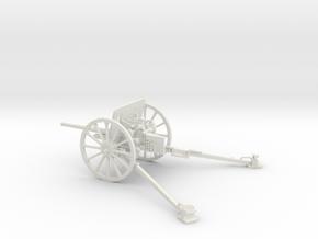 1/30 IJA Type 94 37mm Anti-tank Gun in White Natural Versatile Plastic