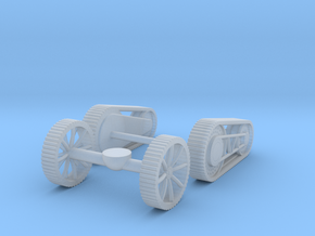 Movement Parts in Smooth Fine Detail Plastic