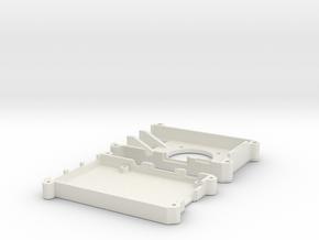 bit's pi case in White Natural Versatile Plastic