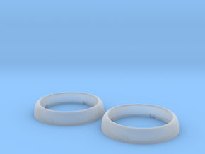 RC4WD Mojave II Headlight Bezel - Pair in Smooth Fine Detail Plastic
