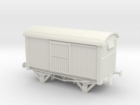 LNER 12 ton Van in White Natural Versatile Plastic