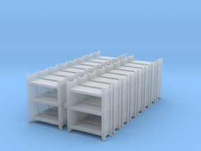 Warehouse Rack (x16) 1/400 in Smooth Fine Detail Plastic
