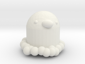 Diglett in White Natural Versatile Plastic