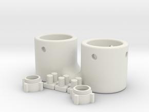 Micro 3D Kit in White Natural Versatile Plastic