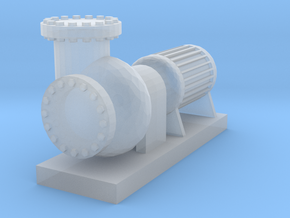 """'HO Scale' - 12"""" Diameter Pump in Smooth Fine Detail Plastic"""