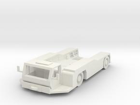 Goldhofer AST-1L Tractor 1/72 in White Natural Versatile Plastic
