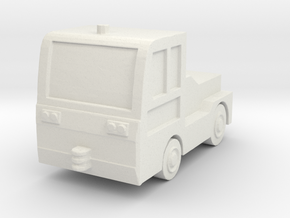 TLD JET-16 Tow Tractor 1/100 in White Natural Versatile Plastic