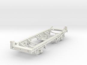 7mm ALGECO LPG Tank Chassis in White Natural Versatile Plastic