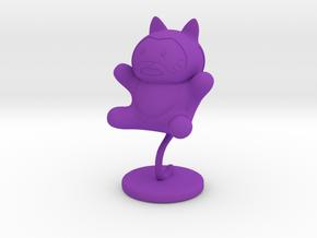 Agent Meow Meow in Purple Processed Versatile Plastic