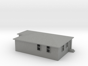 N Scale Australian House #2B in Gray PA12