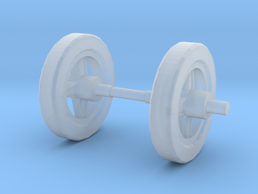 Cy-Kill Wheels in Smooth Fine Detail Plastic