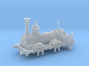 Sharpie Luggage engine Trent N gauge in Smooth Fine Detail Plastic