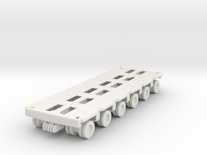 Goldhofer SPMT Modular Trailer 1/76 in White Natural Versatile Plastic