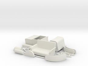 Stevens-Duryea Model L Runabout 1903-1906 1/32 in White Natural Versatile Plastic