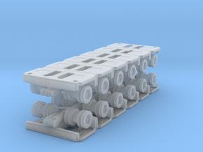 Goldhofer SPMT Modular Trailer (x2) 1/285 in Smooth Fine Detail Plastic