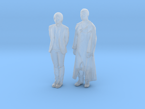 Printle C Couple 557 - 1/87 - wob in Smooth Fine Detail Plastic