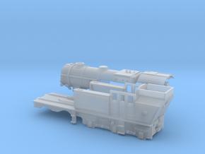 N Gauge Beyer-Ljungstrom Turbine Locomotive #1 in Smooth Fine Detail Plastic