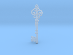 Bloodborne Upper Cathedral Key in Smooth Fine Detail Plastic