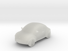 Beetle in Smooth Fine Detail Plastic