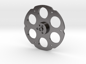 Mills Post Time- Small Payout Wheel in Polished Nickel Steel