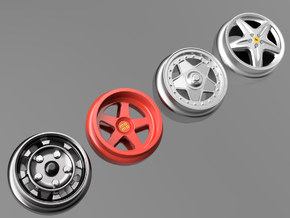 1/64 scale Wheel Multi Pack E - Euro Sport in Smoothest Fine Detail Plastic