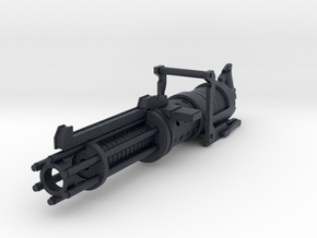 Z-6 rotary blaster cannon 3.75 scale in Black PA12