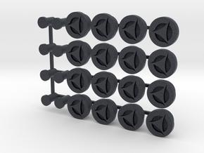 Bung 16 Pack in Black PA12