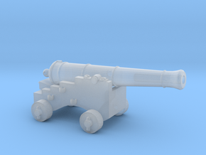 O Scale Pirate Cannon in Smooth Fine Detail Plastic