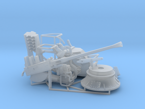 Bofors MKVII 1/45 in Smooth Fine Detail Plastic