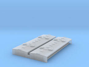 """""""N Scale"""" Northern Pacific Sand Car Roof insert in Smoothest Fine Detail Plastic"""