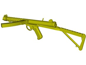 1/15 scale Sterling L-2A3 submachinegun B x 1 in Smooth Fine Detail Plastic