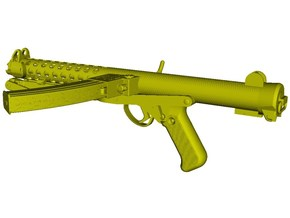 1/16 scale Sterling L-2A3 submachinegun A x 1 in Smooth Fine Detail Plastic