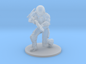 Halo Reach Spartan Noble4 miniature games and rpg in Smooth Fine Detail Plastic