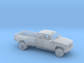 1/87 1989 Chevrolet Silverado Extended Dually Kit in Smooth Fine Detail Plastic