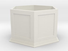 Sarah's Music Box - Base in White Natural Versatile Plastic