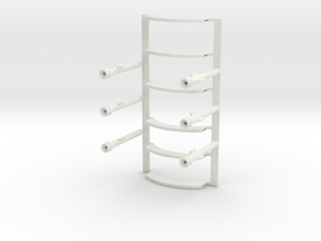 Sarah's Music Box - Poles and Arch Pieces in White Natural Versatile Plastic