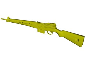 1/15 scale MAS-49 rifle x 1 in Smooth Fine Detail Plastic