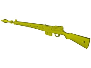 1/16 scale MAS-49 rifle & AP Mle-48 grenade x 1 in Smooth Fine Detail Plastic