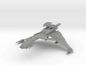 Klingon Hegh'ta Bird of Prey MICRO Sized in Gray PA12