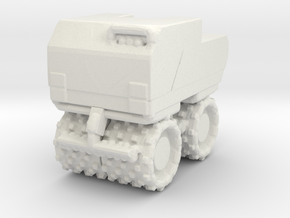 Trench Compactor 1/48 in White Natural Versatile Plastic
