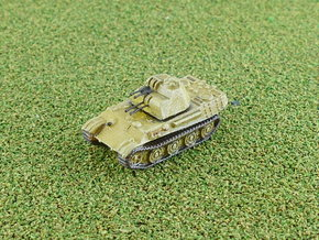 German Flakpanther MG 151 Quad-Turret 1/285 in Smooth Fine Detail Plastic