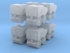 Trench Compactor (x8) 1/220 in Smooth Fine Detail Plastic