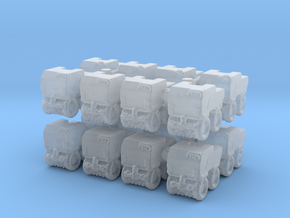 Trench Compactor (x16) 1/500 in Smooth Fine Detail Plastic